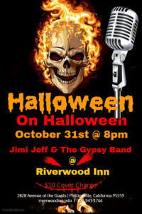 Riverwood Inn Halloween on Halloween